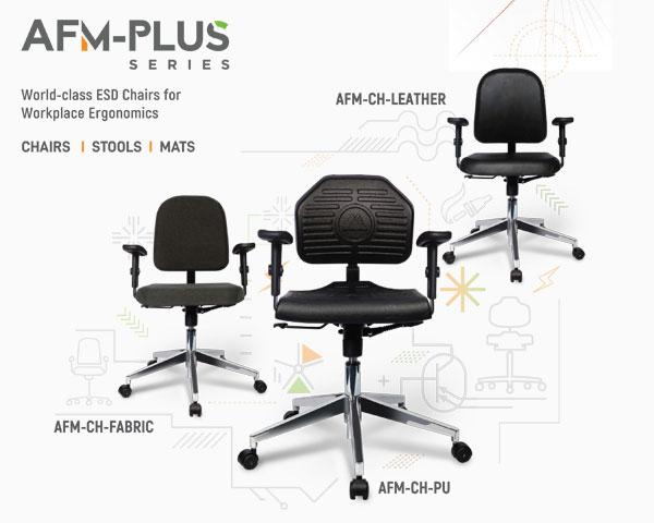 ESD cleanroom chair
