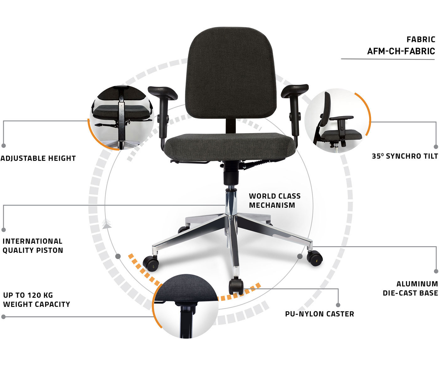 Manufacturer of workstation chair