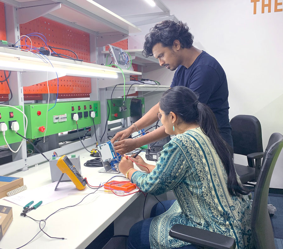 Electronic assembly tables in India
