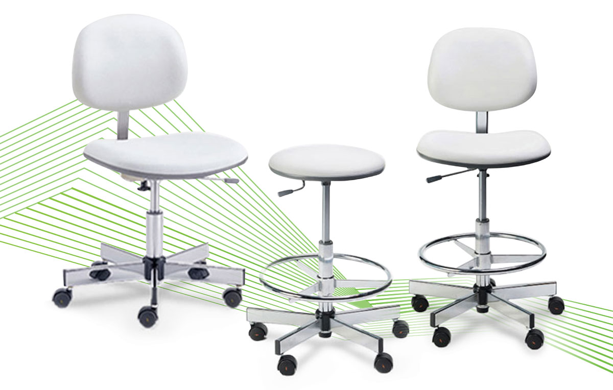 Cleanroom Lab Chairs